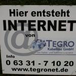 Internet gibt es schon lang. Aber wann gibt es den schnellen Zugang von Tegro?