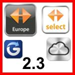 Navigon-App für iOS integriert iCloud und Glympse