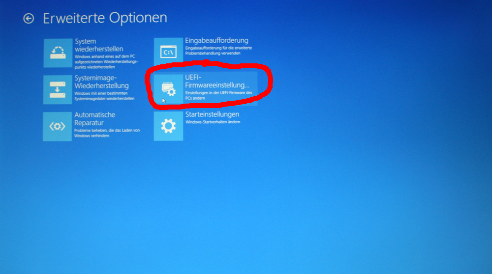 how to get to the bios in windows 8