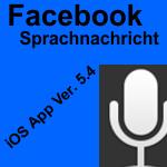 Artikelbild - Facebook iOS Ver. 5.4