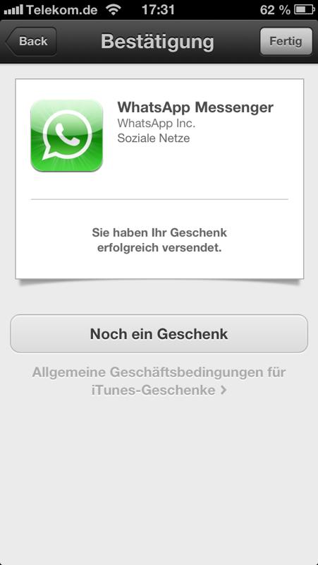 Bestätigung von Apple.