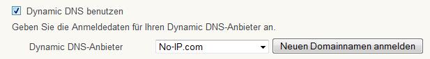NO-IP.com Fritzbox