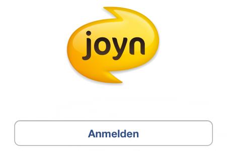 Joyn - Anmelden