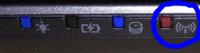 Optische Signalisierung des aktiven WiFi