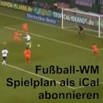 Artikelbild - Spielplan WM 2014 als iCal
